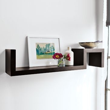 S Wall Shelf | west elm modern-display-and-wall-shelves