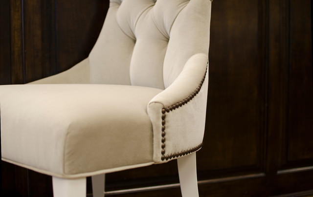 Rosa's Formal Dining contemporary-dining-chairs