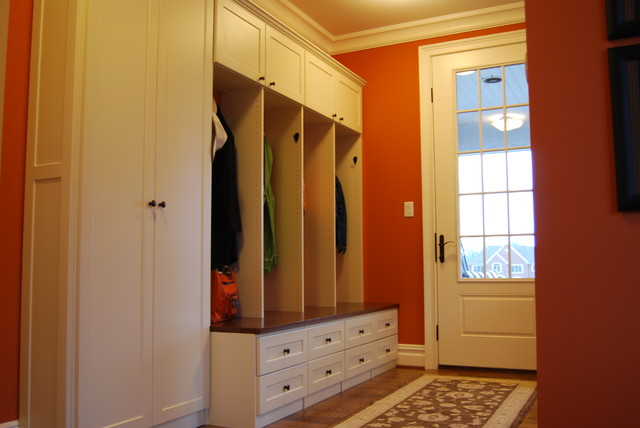 Coat Cubbies And Home Office Traditional Hall Other