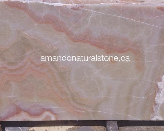 Natural Stone White Onyx, Cream Onyx & Amber Onyx - Beautiful, Elegant  & High E -