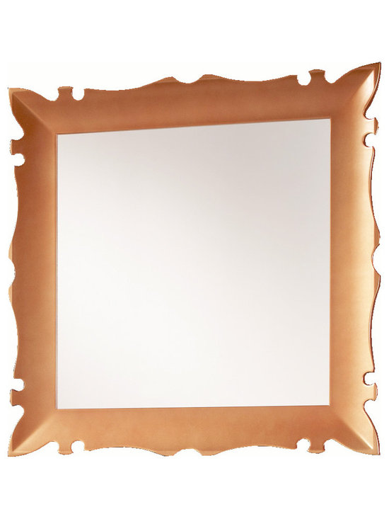 "Versalles 31"" 1/2 mirrror frame. Copper. -"