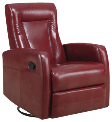 bonded leather swivel rocker recliner contemporary rocking chairs