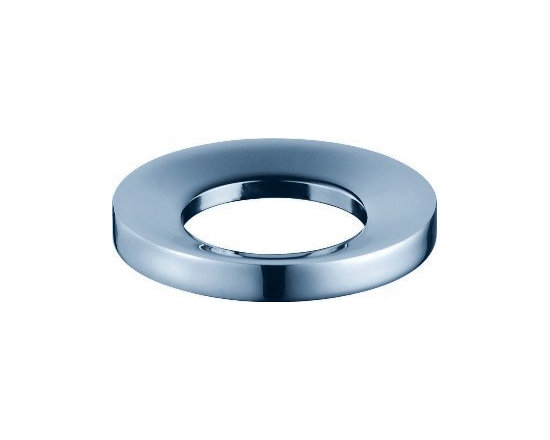 Kraus - Kraus Chrome Mounting Ring - Enhance the look and function of your Kraus vessel sink with this mounting ring
