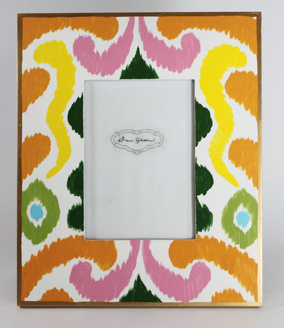 Bright Ikat Frame eclectic-picture-frames