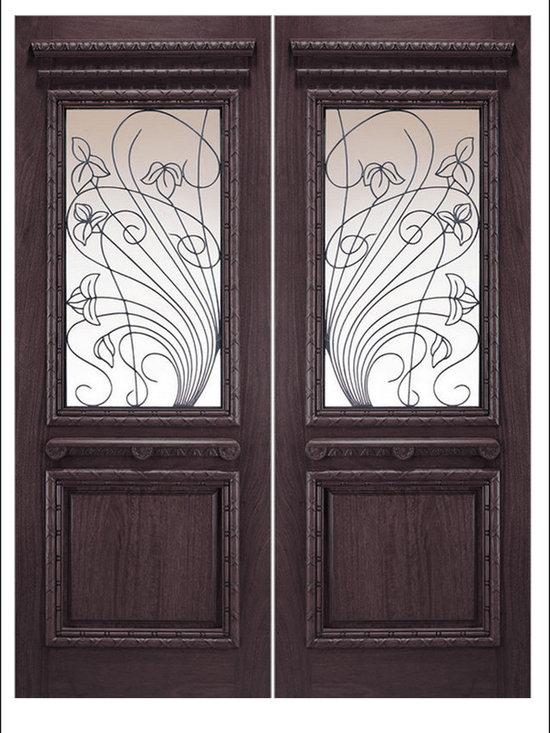 OLD WORLD ENTRY DOORS MODEL #  155 Porto -