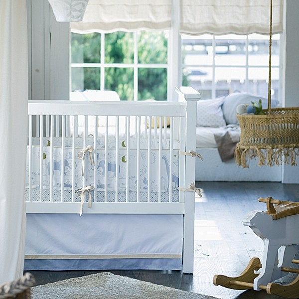 Dylan crib bedding contemporary baby bedding by for Serena and lily baby girl bedding