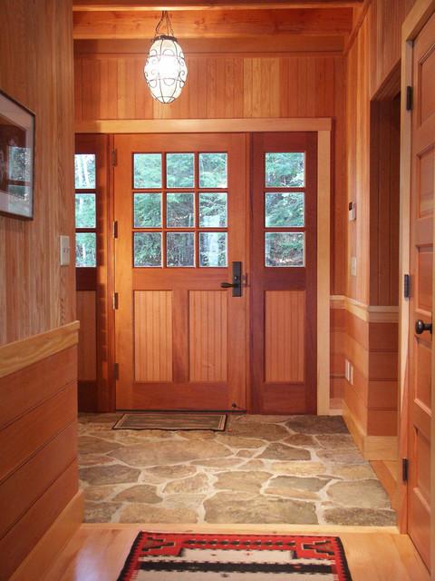 Silver Lake Bedroom rustic-entry