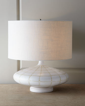 "Global Views Ivory ""Onion"" Lamp traditional-lamp-shades"