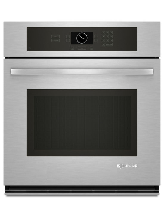"""Jenn-Air 27"""" Single Electric Wall Oven, Stainless/blk 