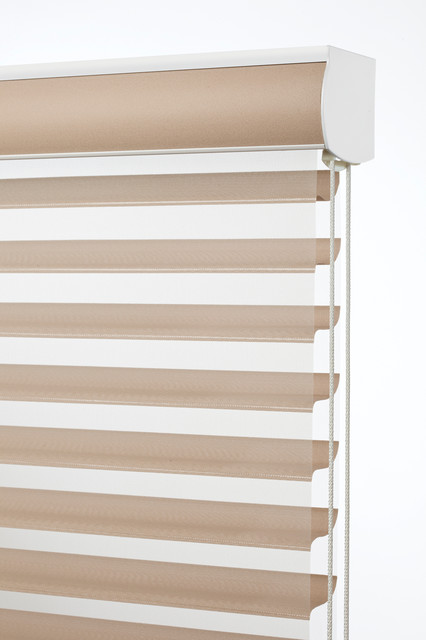 Sheer blinds control light & add privacy contemporary-window-blinds