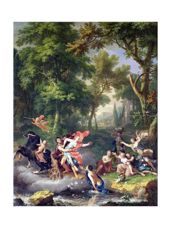 The Rape of Proserpine | Huysum | Canvas Print - Condition: Canvas Print - Unframed