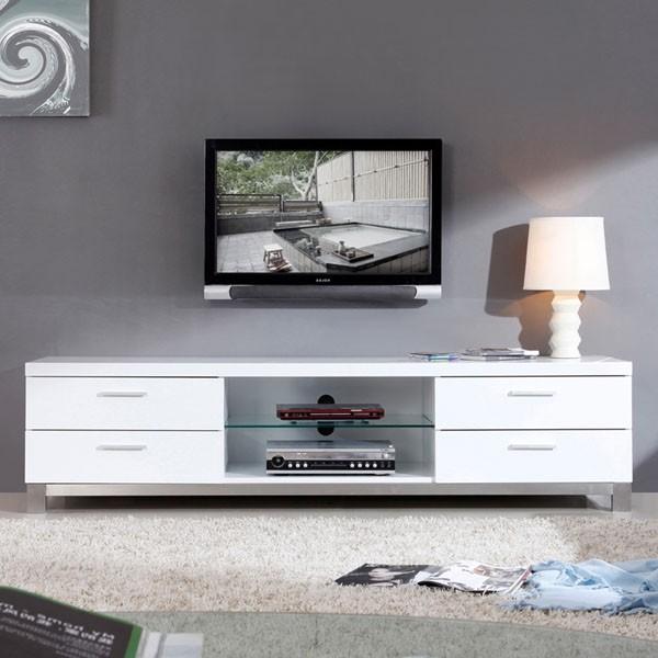 B Modern Promoter 79 High Gloss White Tv Stand Bm 120
