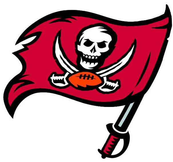 Nfl Tampa Bay Buccaneers Teammate Logo Wall Sticker Decal