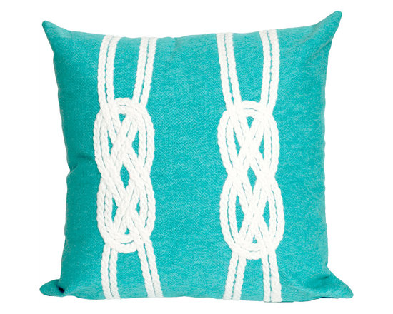 Liora Manne Double Knot Throw Pillow
