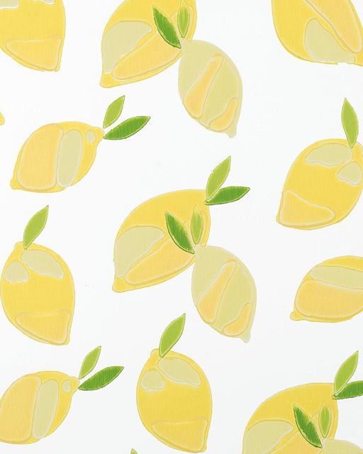 Serena Amp Lily Lemons Wallpaper Modern Wallpaper