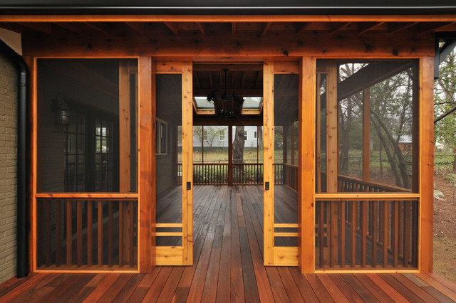 Craftsman Screen Porch Craftsman Atlanta By Innovative Construction Inc