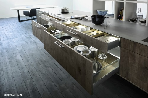 Beau These Arenu0027t Your Grandmau0027s Cabinets! Meet Todayu0027s Chic New Breed Of Kitchen  Storage