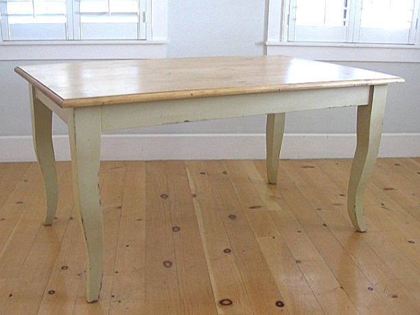 Queen Anne Cottage Dining Table traditional-dining-tables
