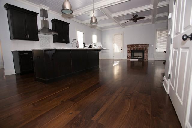 Black Walnut Plank Flooring Modern Hardwood Flooring