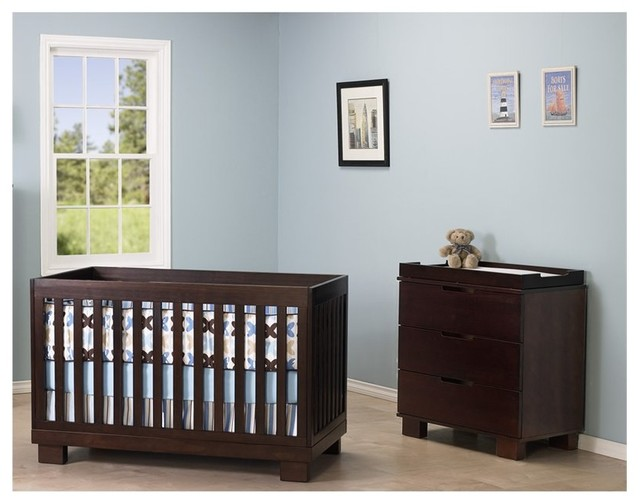 Babyletto Modo 3 In 1 Convertible Wood Crib Set In