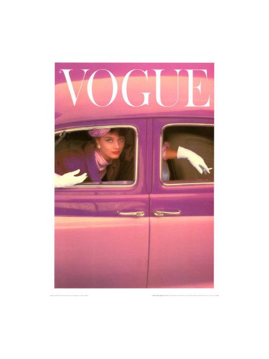 Vogue Cover, Autumn Fuchsia, 1957 -