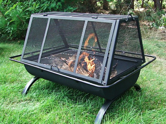 Backyard Fire Pit Accessories : Outdoor Classics Northland Grill Fire Pit  Traditional  Fire Pits