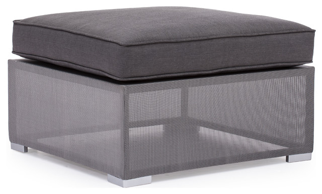 Clear Water Bay Ottoman contemporary-outdoor-stools-and-benches
