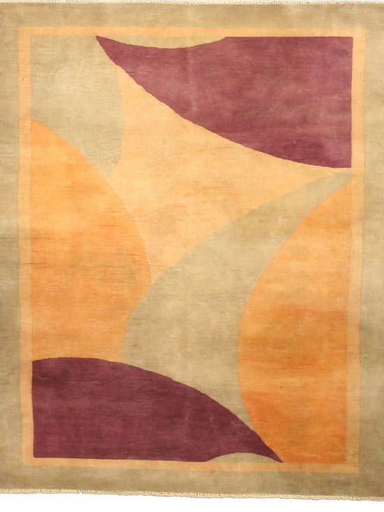Timeless Chinese Rugs - A Chinese Art Deco rug