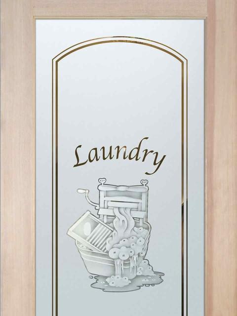 Laundry room door thru the wringer 2d eclectic for Laundry external doors