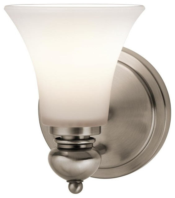 One Light Classic Pewter Wall Light - Traditional - Wall Sconces - by We Got Lites