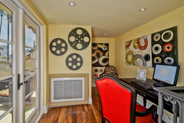 Color Me Sold Home Staging contemporary-home-office