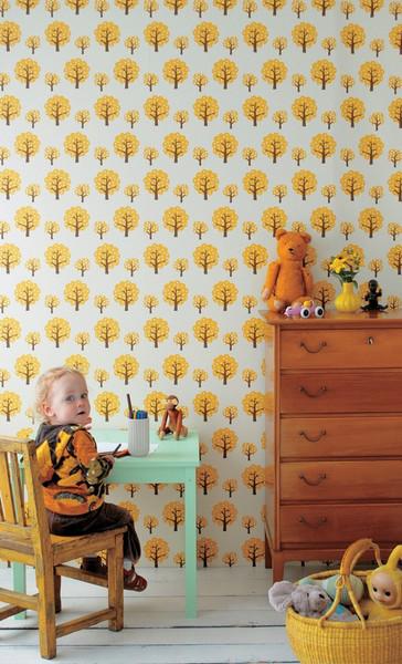 Dotty Wallpaper contemporary-wallpaper