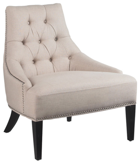 Caprice Armchair, Linen modern-armchairs-and-accent-chairs