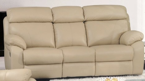 Ersilia Italian Leather Reclining Sofa modern-sofas