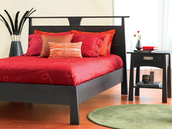 Reflections Bed - Contemporary - Beds - by Dania Furniture