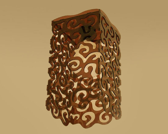 Curley lamp -