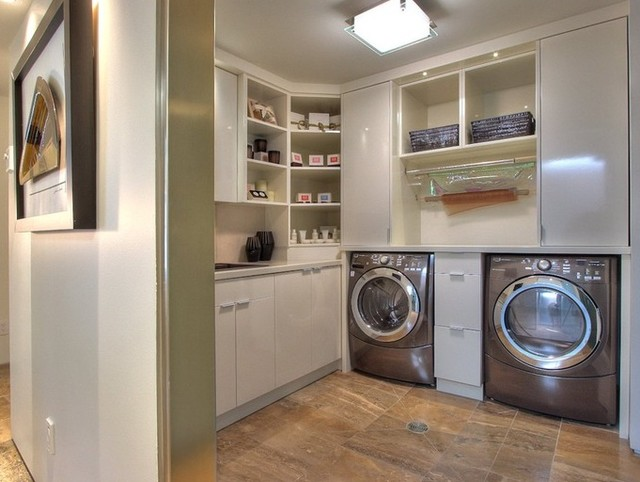 Syberg Designs Modern Laundry Room Vancouver By