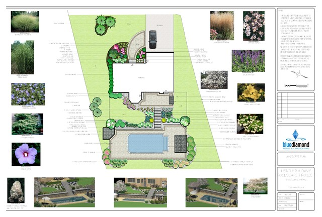 Landscape Designs 2d 3d Contemporary Site And