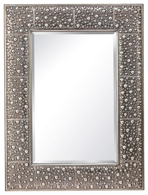 Feiss Danby 40 High Rustic Silver Wall Mirror Contemporary Wall Mirrors By Lamps Plus