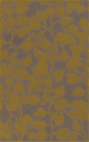 "Goa Flint Gray Rug Size: 3'3"" x 5'3"" modern-rugs"