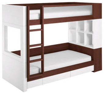 Nurseryworks Duet Bunk Bed modern kids beds