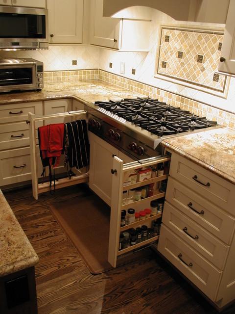 Cabinet details & specialty cabinets - Kitchen Drawer Organizers - detroit - by Woodmaster Kitchens