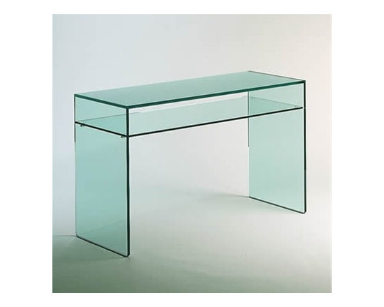 Gulliver Console - In stock w/ Frosted Glass Top. Free delivery.