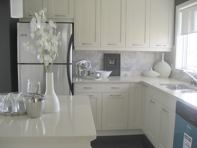 Residential traditional-kitchen