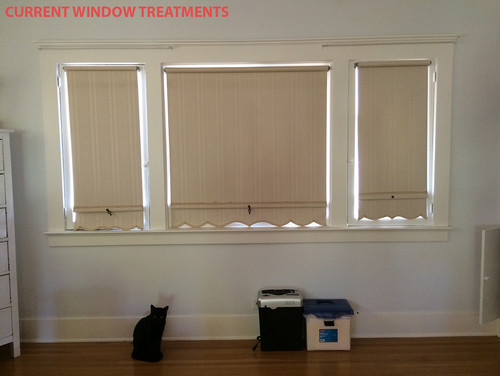 Casement windows with roman shades for Best blinds for casement windows