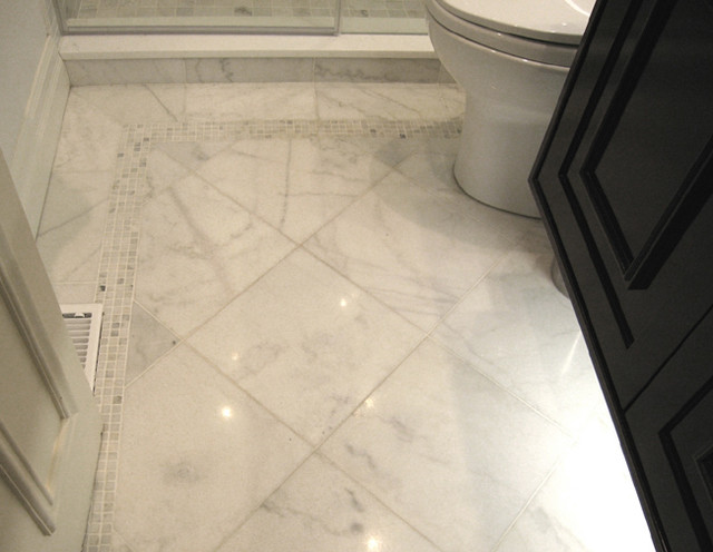 sino carrara traditional tile toronto by cercan tile inc