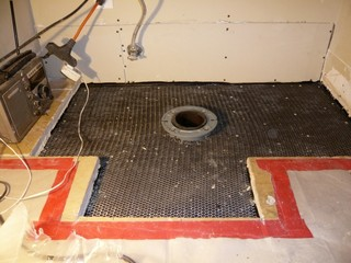 Cast Iron Toilet Flange Replacement At Correct Elevation - Traditional ...