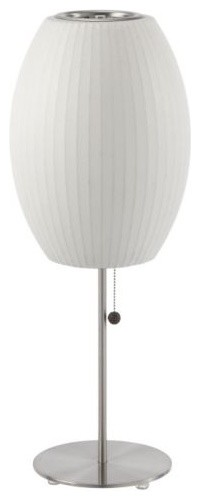 Cigar Lotus Table Lamp contemporary-table-lamps