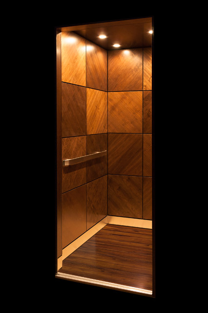 Walnut Cab Home Elevator