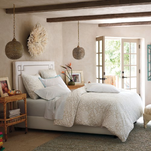Donnas blog bedroom bedside lights pendant lighting serena lily